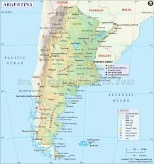Map Of Latin America With Capitals by Argentina Map Map Of Argentina