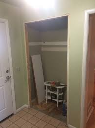diy entryway closet renovation album on imgur