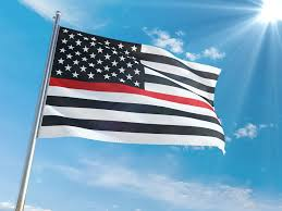 Customize Your Own Flag Patriotic Wall Decor Honor Those Who Protect Us The Thin Line