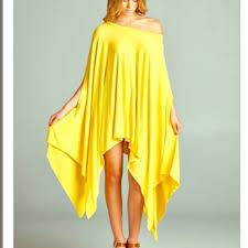 Drape Tunic Dress 95 Off Fashionboholoco Tops Oversized Cape Tunic T Shirt Slip