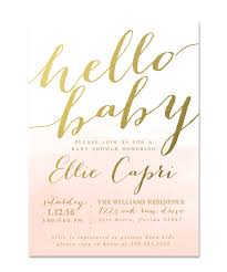 hello baby shower hello baby shower invitation sip see pink watercolor