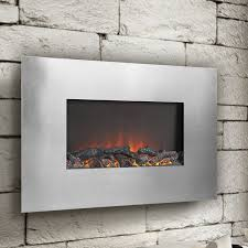 flamelux wall mounted electric fireplace
