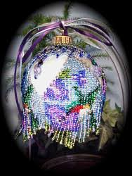 beaded hummingbird ornament cover pattern kit if you