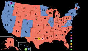 Create Electoral Map Lessig Wants To Fix The Electoral College Boing Boing