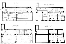 Sauna Floor Plans by Josephine Baker House Levels Plans Project By Adolf Loos Sauna
