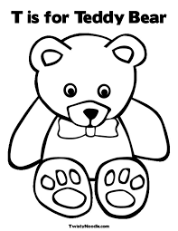 teddy bear coloring pages to print kids coloring