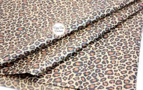 cheetah print tissue paper leopard tissue paper 20x30 inch 10 sheets leopard print tissue