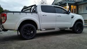 Ford Ranger Truck Rims - black rhino glamis matt black bg world wheels