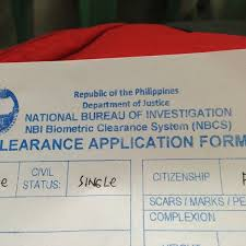 3 e bureau label national bureau of investigation nbi government building in manila