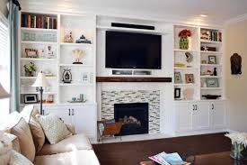 Built In Bookshelves Around Tv by Best Built Ins Before And Afters 2013 Blank Walls Built Ins And
