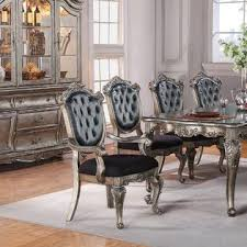 acme united formal traditional chantelle 9 pc dining set table