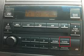 nissan altima 2005 problems how to change the time on 2005 nissan altima stereo