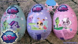 littlest pet shop easter eggs lps eggs littlest pet shop kids