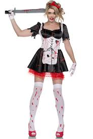 Zombie Halloween Costumes Adults Zombie Alice Halloween Costume Women U0027s Malice Wonderland Costume