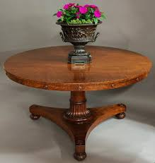 antique tilt top table 19thc plum pudding mahogany tilt top table in tables