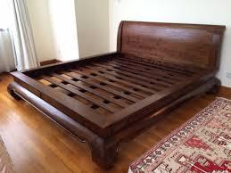 Solid Bed Frame King King Size Bed Frames Origin Asia Solid Teak Wood King Size Bed Bed