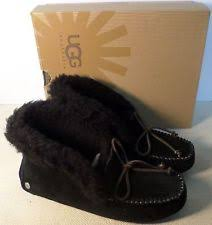 ugg moccasin slippers sale ugg australia leather moccasins slippers for ebay