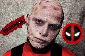 Scarface Halloween Costume Deadpool Scarface Makeup Tutorial Marvel дэдпул мейкап туториал