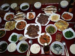 korean thanksgiving dinner from chuseok origi flickr