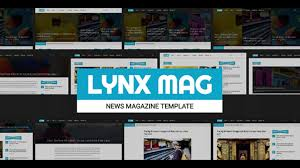 lynx responsive news magazine template themeforest website