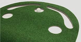 How To Build A Putting Green In My Backyard Amazon Com Putt A Bout Grassroots Par Three Putting Green 9