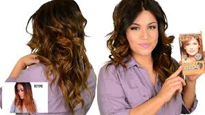 how to get rid of copper hair diy drugstore tone brassy orange ombre highlighted hair youtube