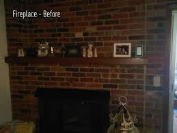 fireplace brick paint red cpmpublishingcom