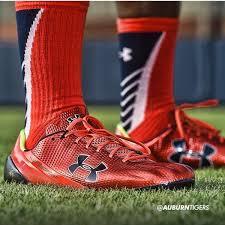 Under Armour Football Socks Auburn U0027s Orange Shoes And Socks Love Them Or Them Al Com