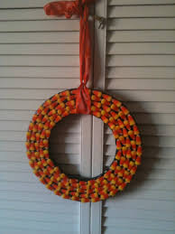 best of halloween how to make a candy corn wreath my mom shops