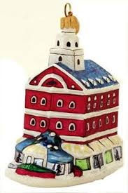 boston mbta trolley landmark ornament boston themed favors