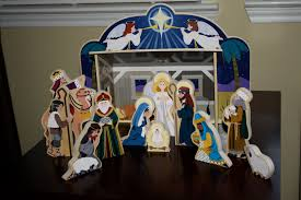 Lighted Outdoor Christmas Nativity Scene by Christmas Lights Creative Hubbell Outdoor Lighting Laredo Lmc