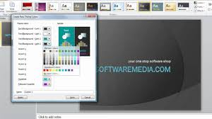 How To Make Custom Themes In Microsoft Powerpoint 2010 Tutorial Theme Ppt 2010