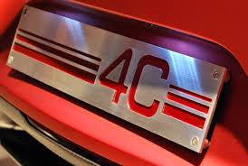 alfa romeo 4c concept alfanatics blog archive alfa romeo 4c concept badge