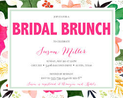 bridal brunch shower invitations bridal shower invitation wording ideas and etiquette