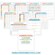 free home school free homeschool planner that will keep your homeschool organized
