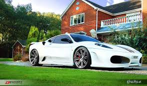 f430 wheels white f430 on deviant dv8 2 wheels gtspirit