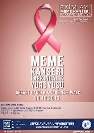 Breast Cancer Awareness Meme - breast cancer awareness walk european university of lefke