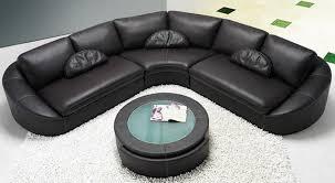 Black Sectional Sofas 2224 Modern Contemporary Black Sectional Sofa Black Design Co