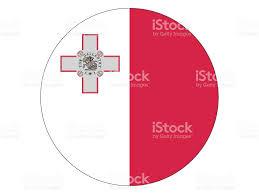 Matla Flag Round Flag Of Malta Stock Vector Art 911344934 Istock