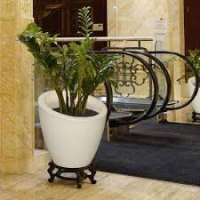 Home Depot Plastic Planters by Ivory Plastic Planters Pots U0026 Planters The Home Depot