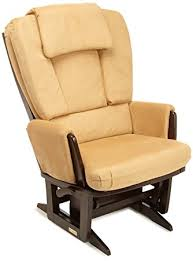 amazon com dutailier nursing grand modern glider chair with built