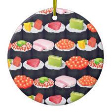 sushi ornaments 28 images i sushi ceramic ornament zazzle
