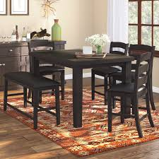 loon peak bodie 6 piece counter height dining set u0026 reviews wayfair