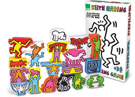 amazon com vilac keith haring stencils set baby shape and