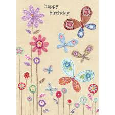 happy birthday butterflies card wendy jones blackett present