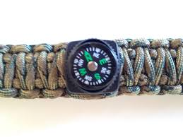 paracord bracelet buckle make images X cords fire starter buckle bracelet kit with compass jpg