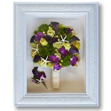 preserve wedding bouquet preserved bridal bouquet in white shadowbox with tropical flowers