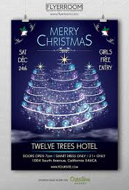 merry christmas flyer template v2 flyerroom