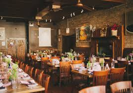 small wedding venues chicago goat restaurant chicago brunch wedding for intimate