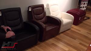Recliner Chair With Speakers Game Chair Recliner And Ottoman Lane Furniture Youtube